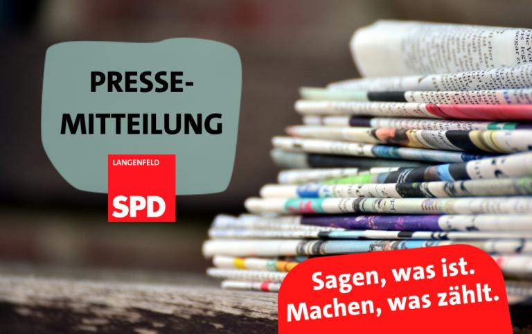 SPD Pressemitteilung – Langfort verliert letzten Versorger des täglichen Bedarfs