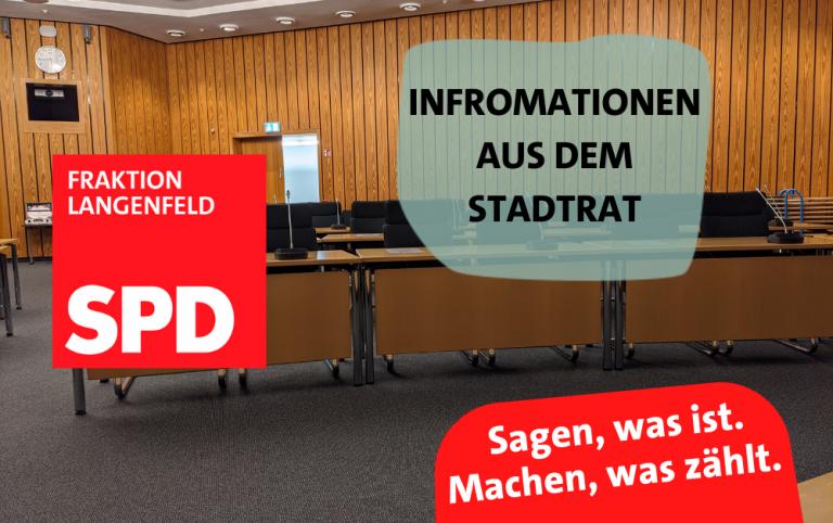 Read more about the article Aktuelles aus dem Stadtrat. – Von Luftfiltern und Starkregen