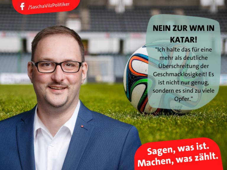 Read more about the article Machen, was zählt. – NEIN zur WM in Katar!