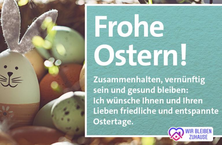 Bürgergrüße – Die herzlichsten Ostergrüße!